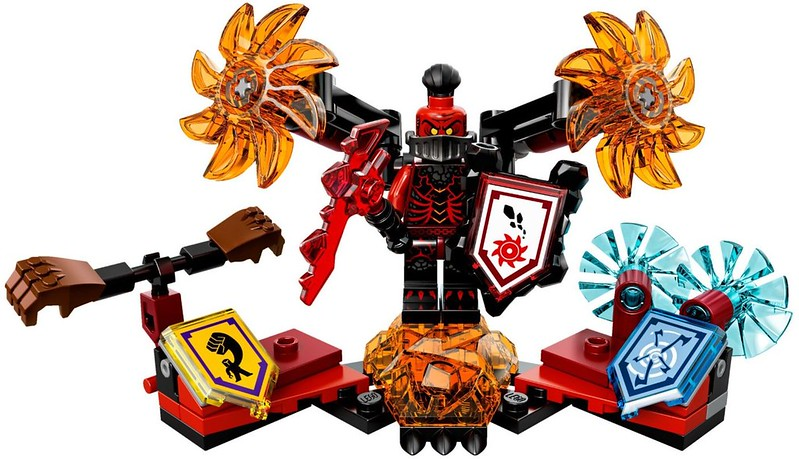 LEGO Nexo Knights 70338 - Ultimate General Magmar