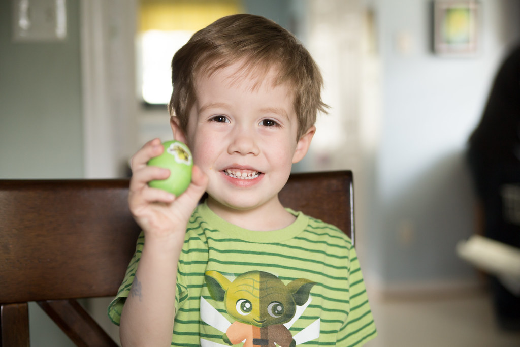 Liam and the Hulk Egg