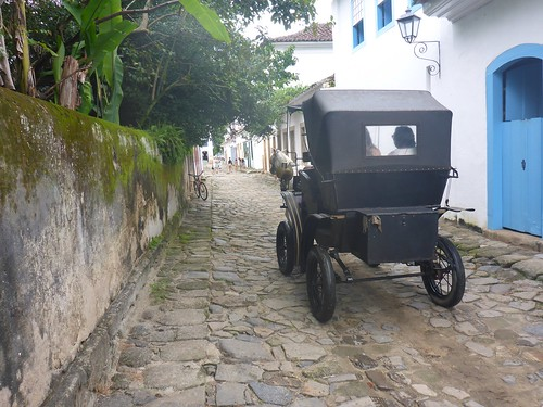 Carriage on the cobblestones