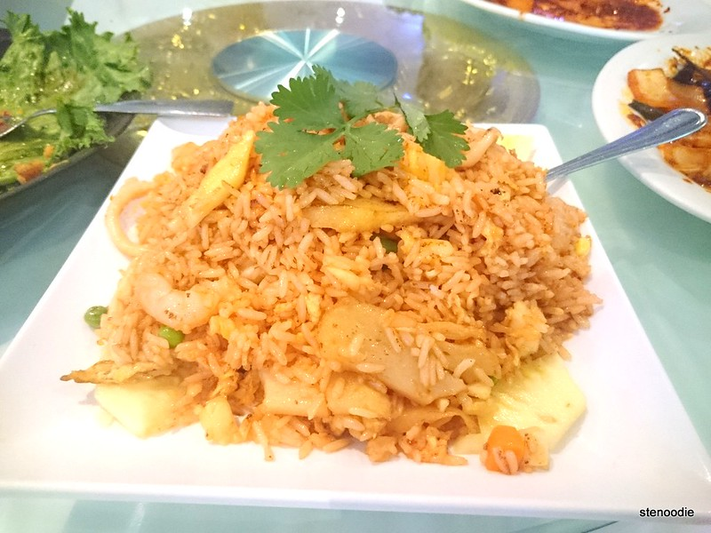 Seafood Pineapple Fried Rice