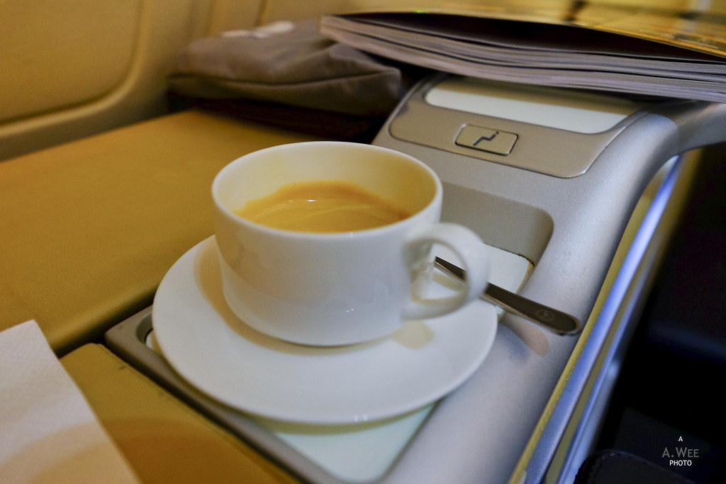 Nespresso onboard