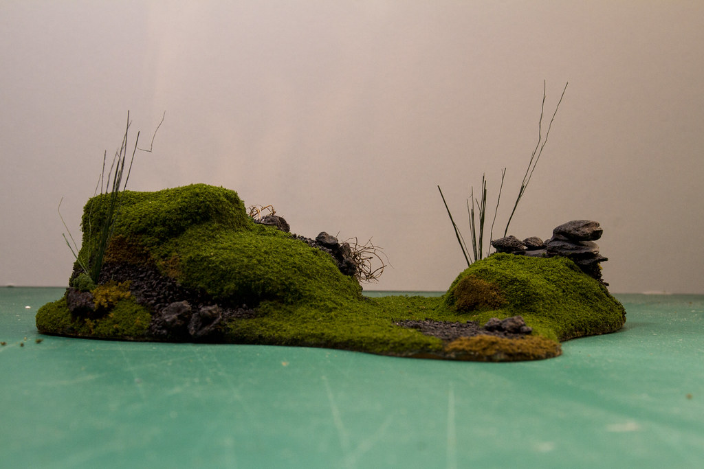 Model Hill for Fantasy Wargaming