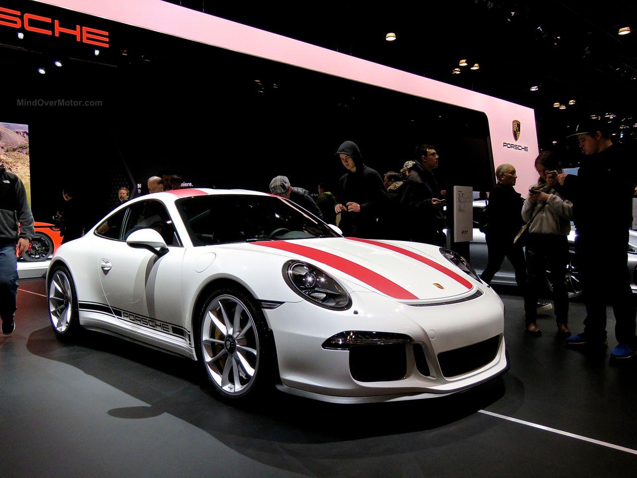 Porsche 911R NYIAS 2016 Front