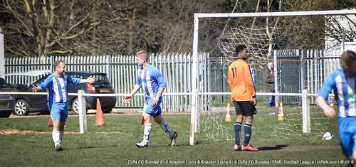 Cliffe FC Sunday vs. Knapton Lions (Double Header) 10Apr16