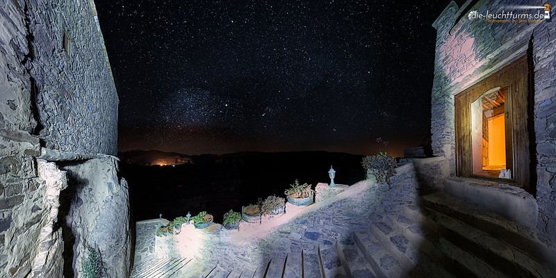 Starry sky above the Kasbah Tizourgane