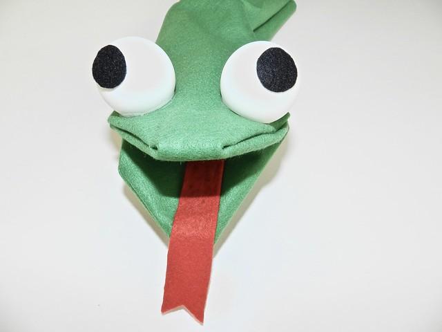 serpente marionetta fai da te