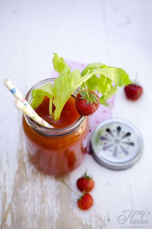 strawberry bloody Mary