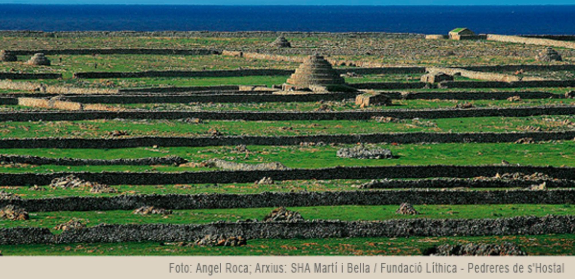Foto (portada del concurso) Ángel Roca; archivo SHA Martí i Bella Fundación Líthica – Pedreres de s'Hostal