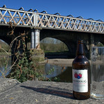 drink by the river at Preston