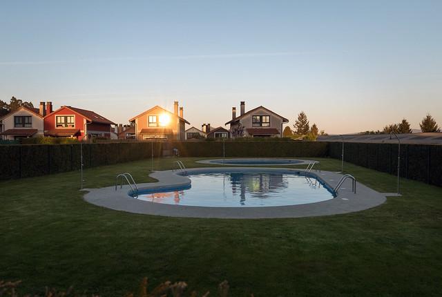 piscina de augas mansas