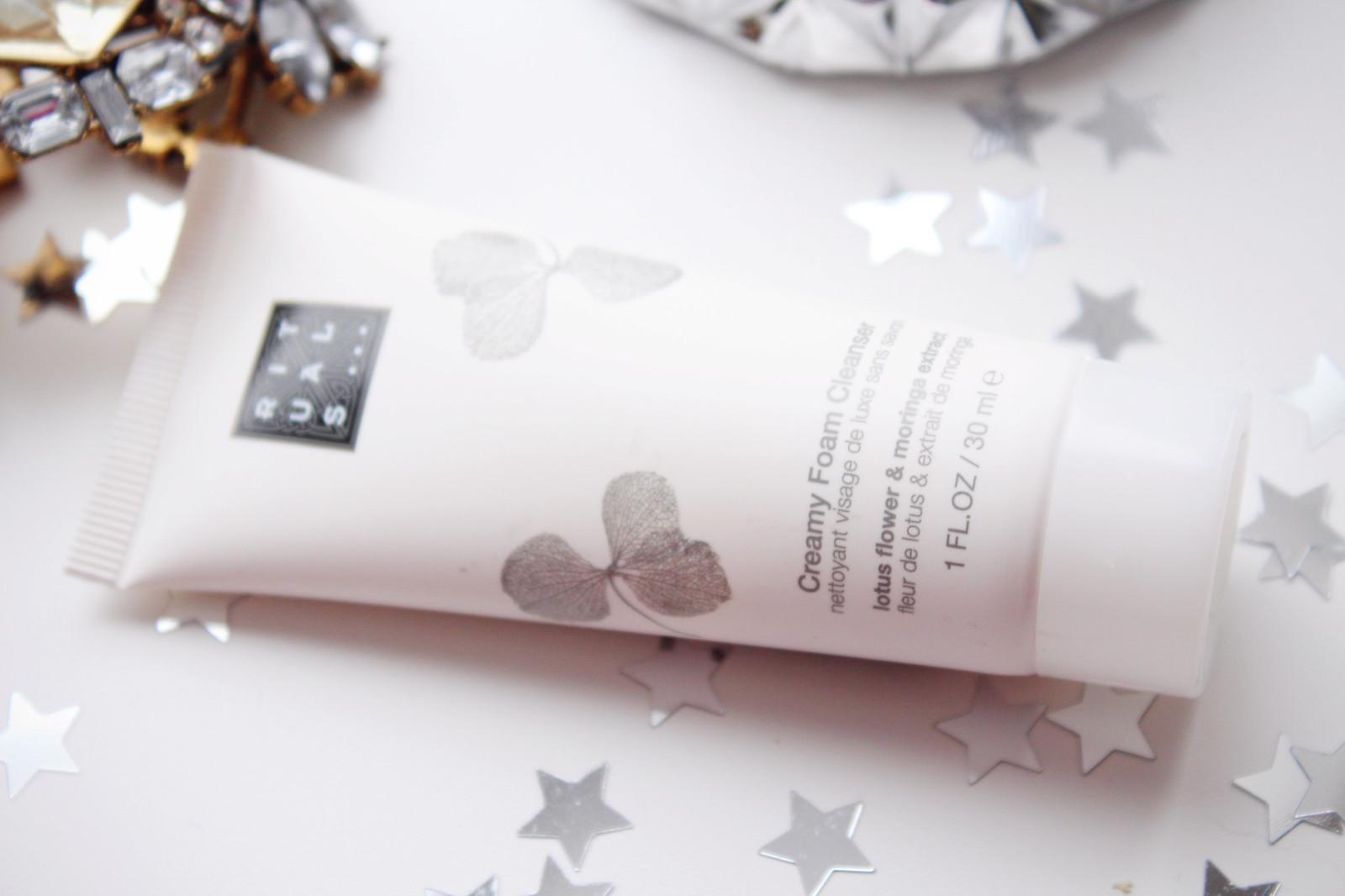 Rituals creamy foam cleanser review