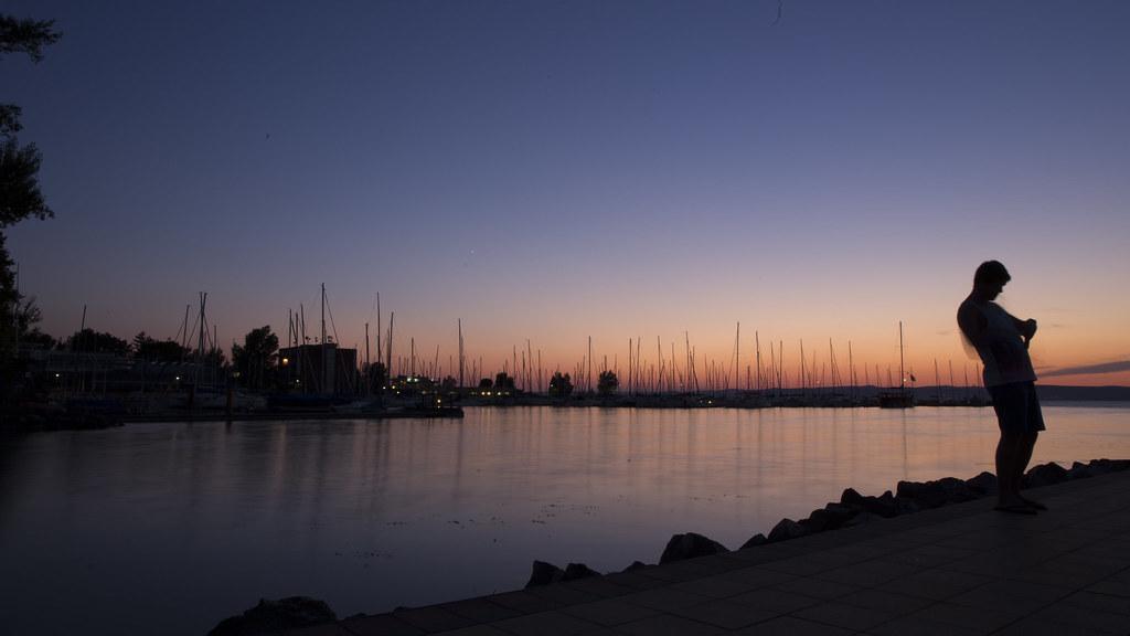 Photo silhouette.