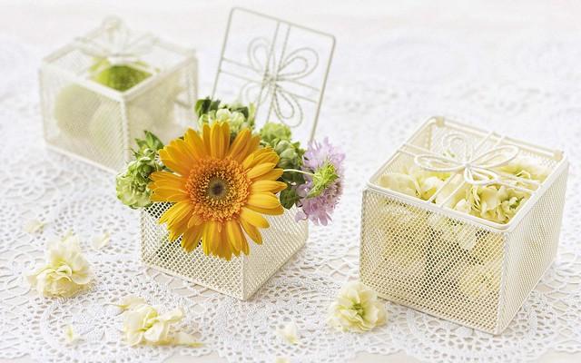 Một Số Mẫu Hộp Hoa Đẹp Để Làm Quà Tặng