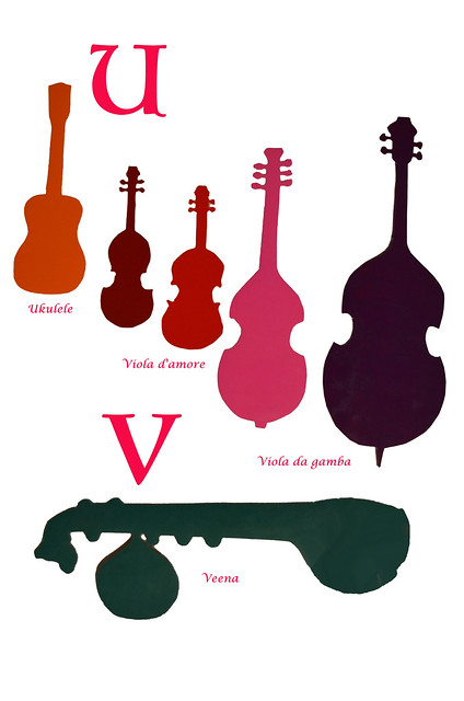 Book Of Musical Instruments, U, V ca 1980 13-8 full