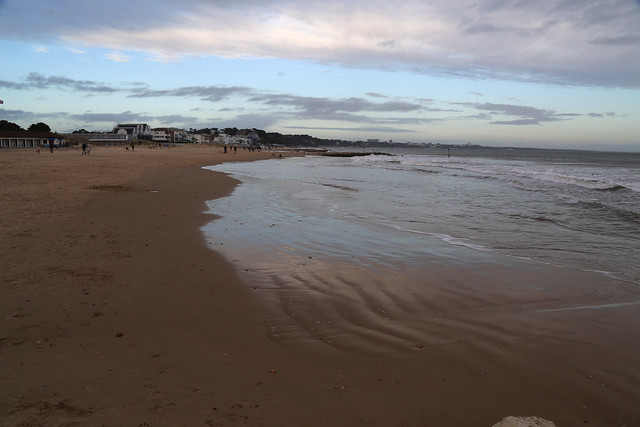 The beach at Sandbanks