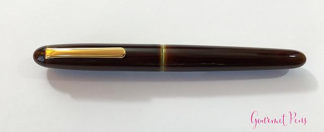 Review Nakaya Cigar Writer Heki-Tamenuri Fountain Pen (9)