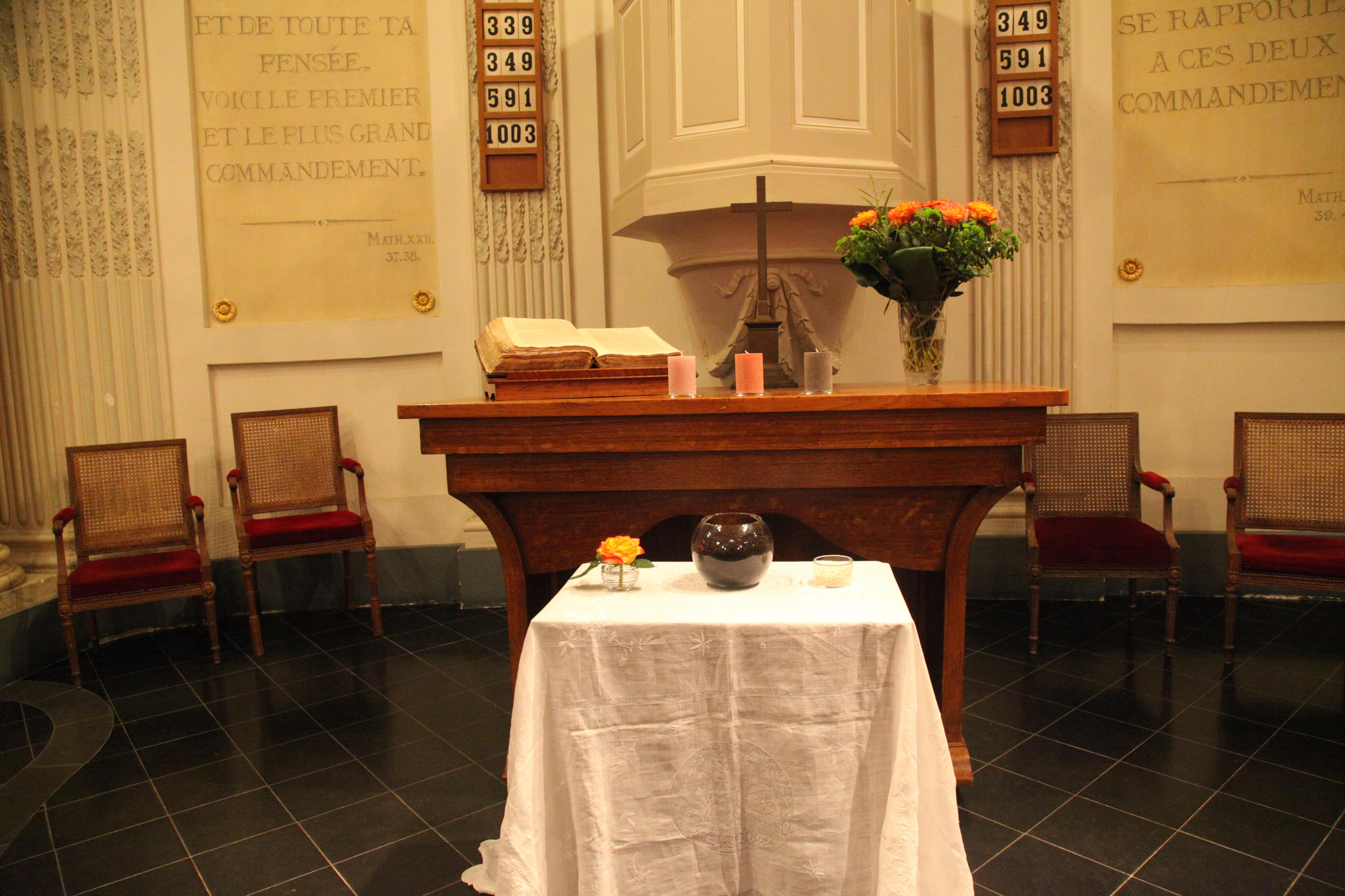 21/01/16 Veillée oecuménique en l'église du Musée