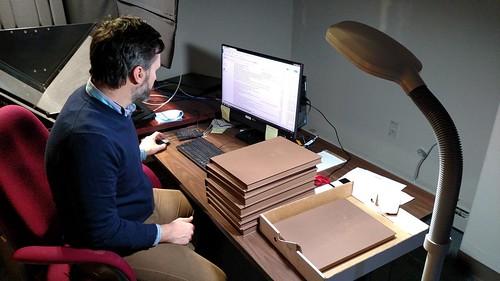 Robert Manley logging Hamelberg Elder catalogs