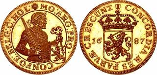 1687 Dutch Rijksdaalder