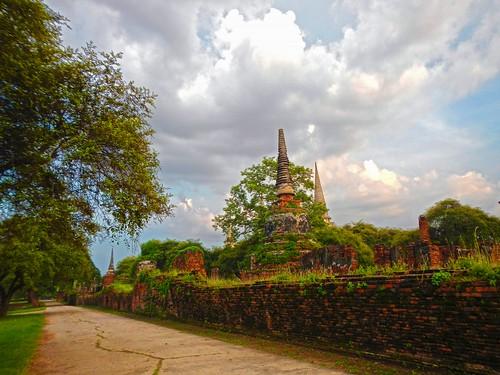 thailand temple unescoworldheritagesite thai siam ayutthaya historicalpark ราชอาณาจักรไทย พระนครศรีอยุธยา เมืองไทย วัดพระศรีสรรเพชญ geschichtspark totallythailand