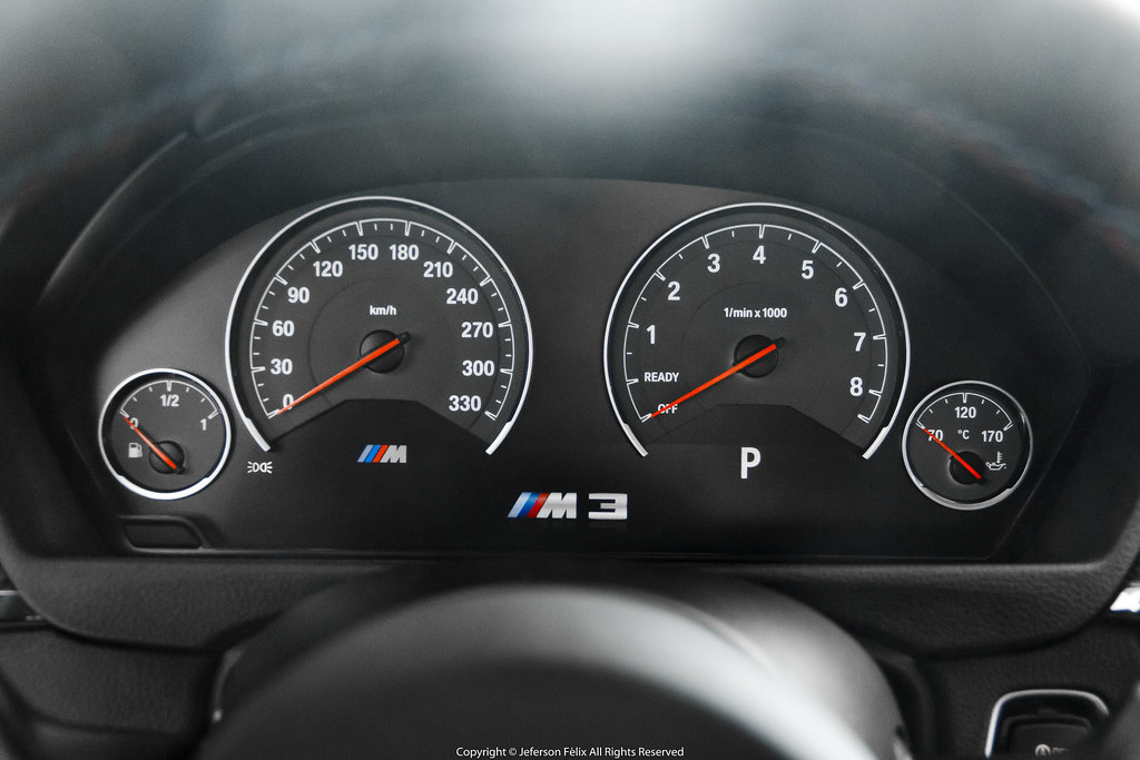 BMW M3 (F80 - Individual Frozen Red)