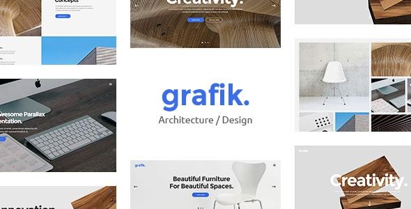 Themeforest Grafik v1.1 - Portfolio, Design & Architecture Theme