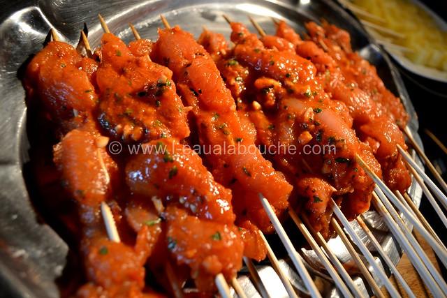 Brochettes de Dinde au Curry Rouge et Ananas © Ana Luthi Tous droits réservés 0006
