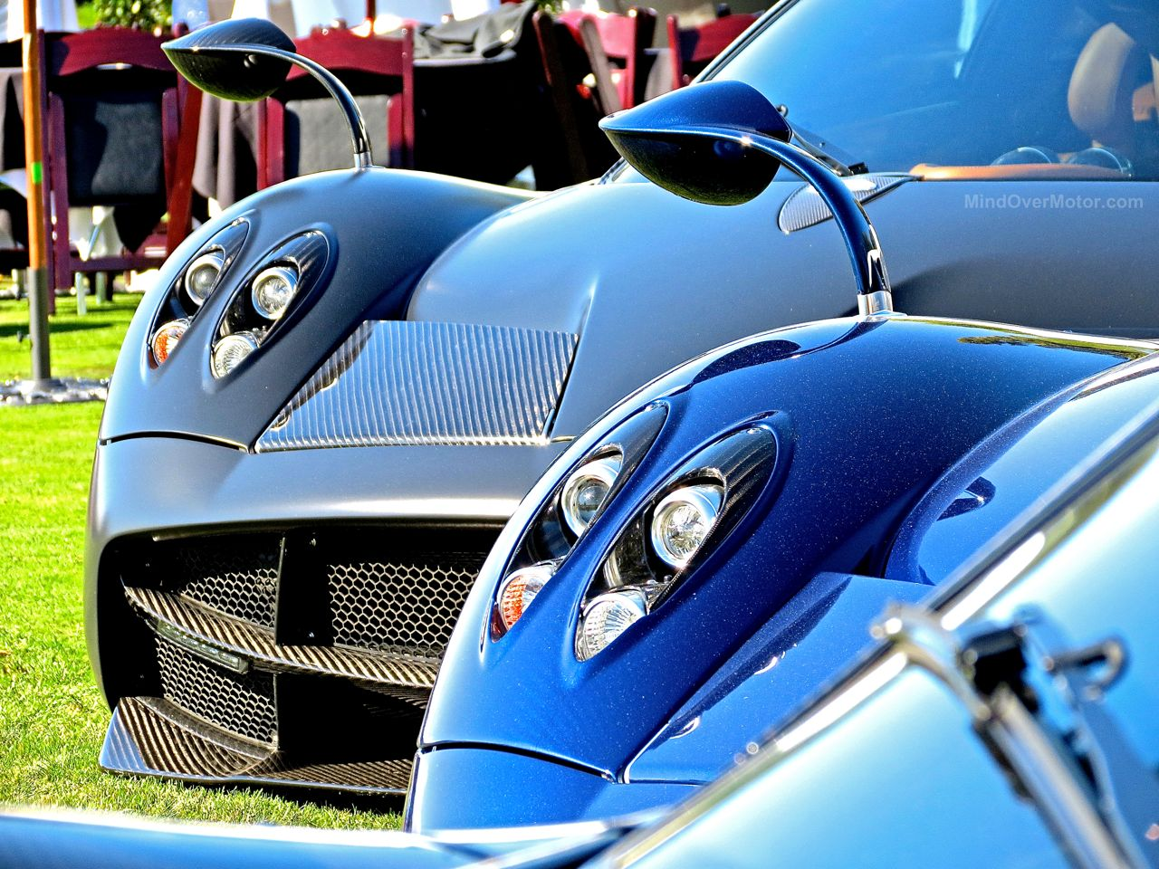 Pagani Huayra Blue Carbon The Quail 11