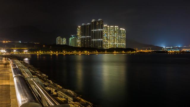 Lohas Park seen from Tsueng Kwan O