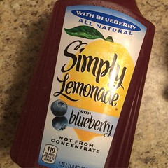 This Simply Blueberry Lemonade is RIDICULOUSLY good!! Lol :bomb::collision::crown::panda_face::registered::tm::heavy_check_mark: #Simply #lemonade #delicious #eatwell #classic #creativity #dmv #lovewhatyoueat #igdaily #instagood #swag #illest #stayfit #fi