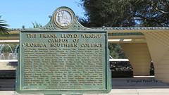 Frank Lloyd Wright Plaque