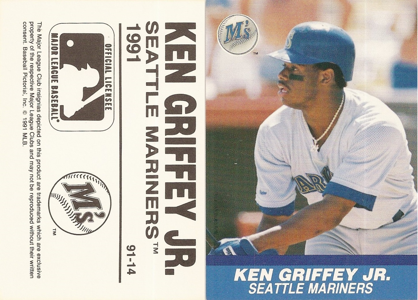 d8b937348f GRIFFEY JR,KEN, 1991, Broder Type - Playball U.S.A. #14, $3.00, SCAN9358 -  Copy (9)