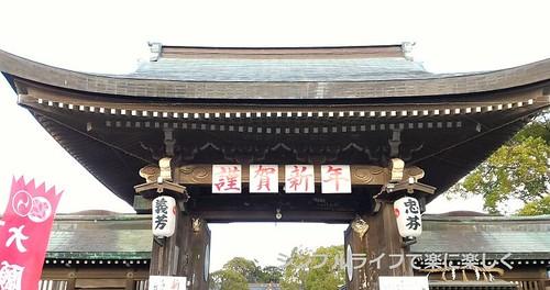 青春18兵庫、赤穂大石神社・入口