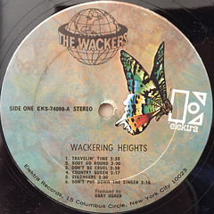 THE WACKERS:WACKERING HEIGHTS(LABEL SIDE-A)