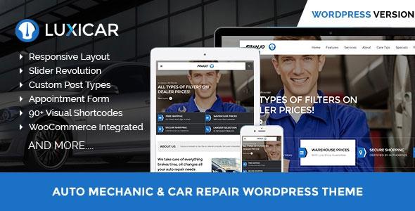Themeforest Luxicar v1.0 – Automotive & Business WordPress theme