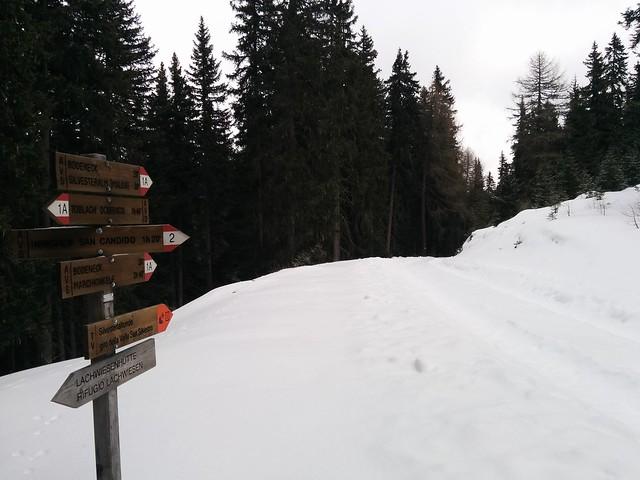 Abstieg zur Silvesteralm