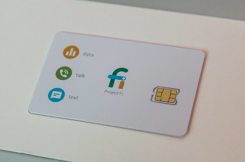 Google Project Fi - Nano SIM Card