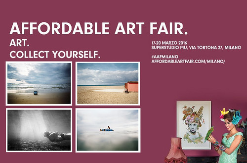 I'll be at Affordable Art Fair Milan 2016