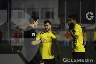 UD Aldaia CF v CF Vilamarxant CF. David Avila