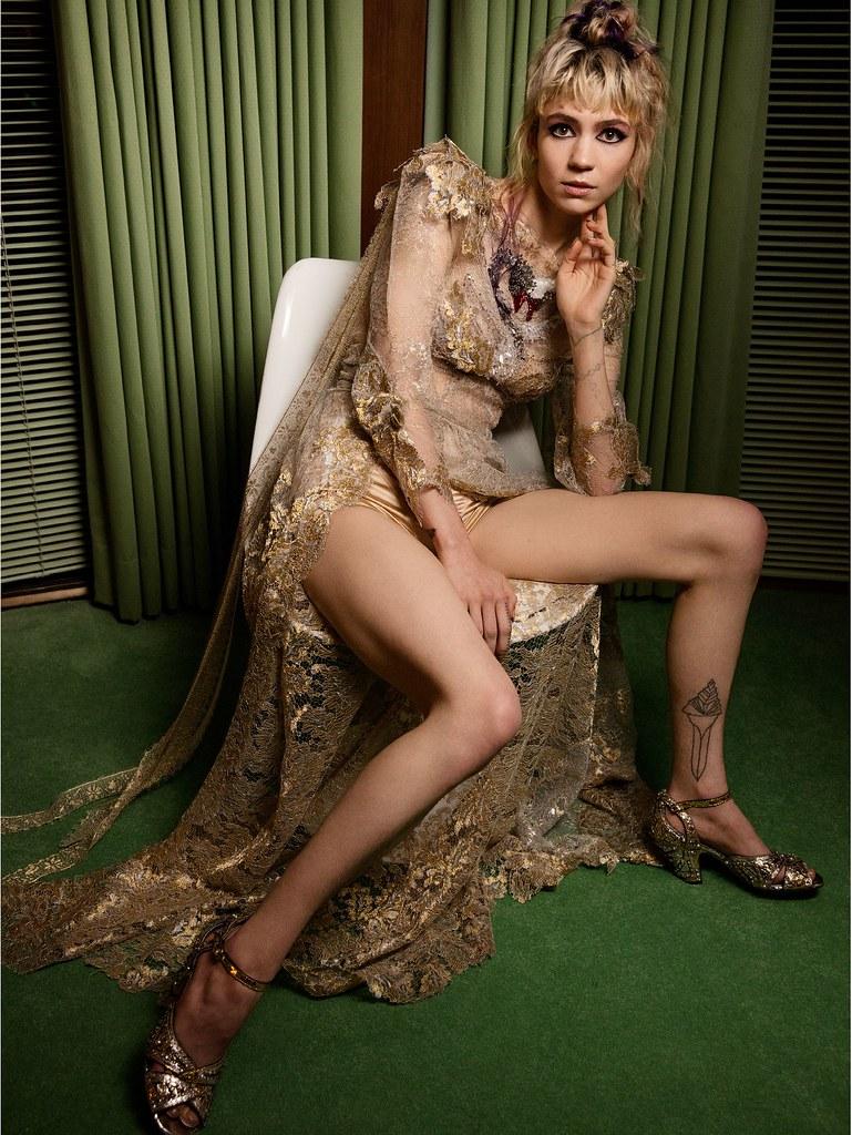 Граймс — Фотосессия для «Vanity Fair» 2016 – 1