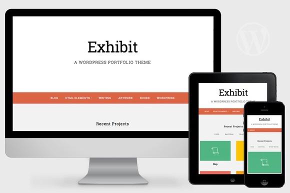 Exhibit v1.0 - WordPress Portfolio Theme