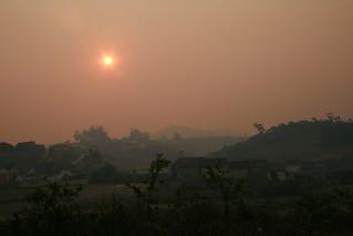 Soleil rouge, Madagascar
