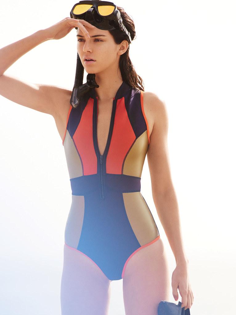 Кендалл Дженнер — Фотосессия для «Vogue» 2016 – 8
