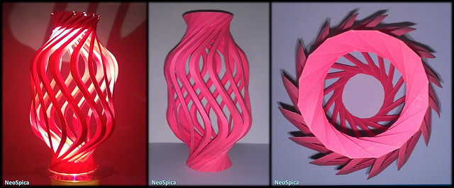 Paper Curved Column Twisted Spiral V2 (1/3)