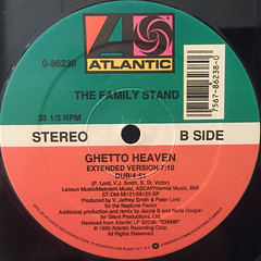 THE FAMILY STAND:GHETTO HEAVEN(LABEL SIDE-B)