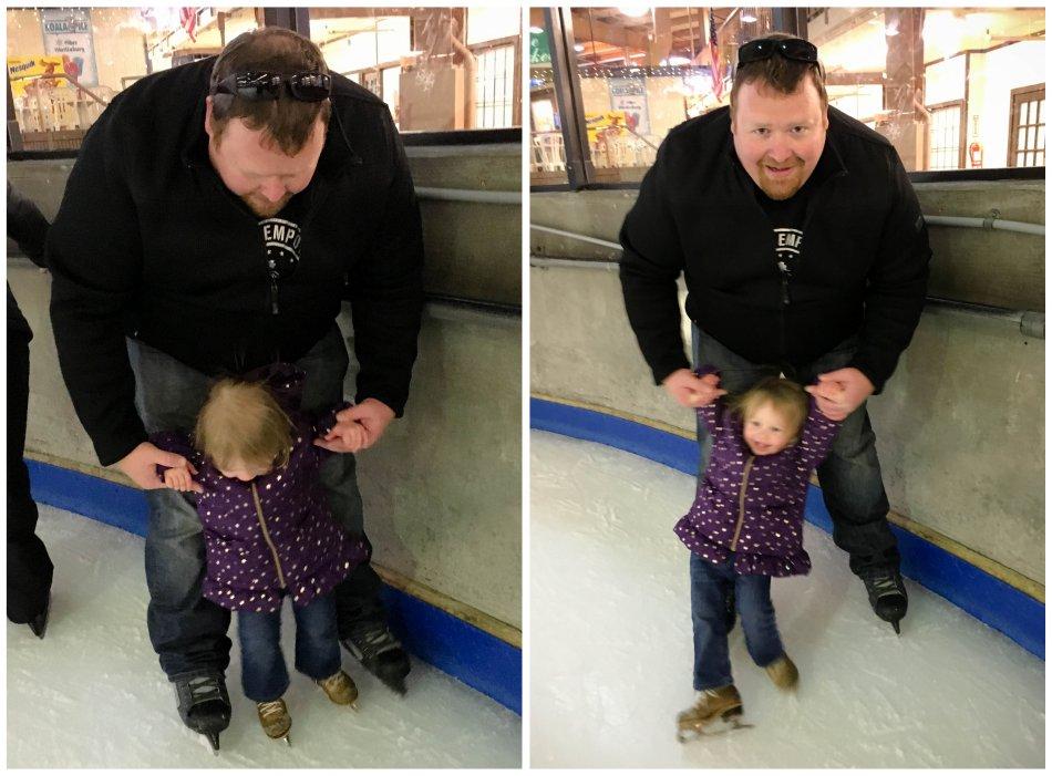 ellie on the ice