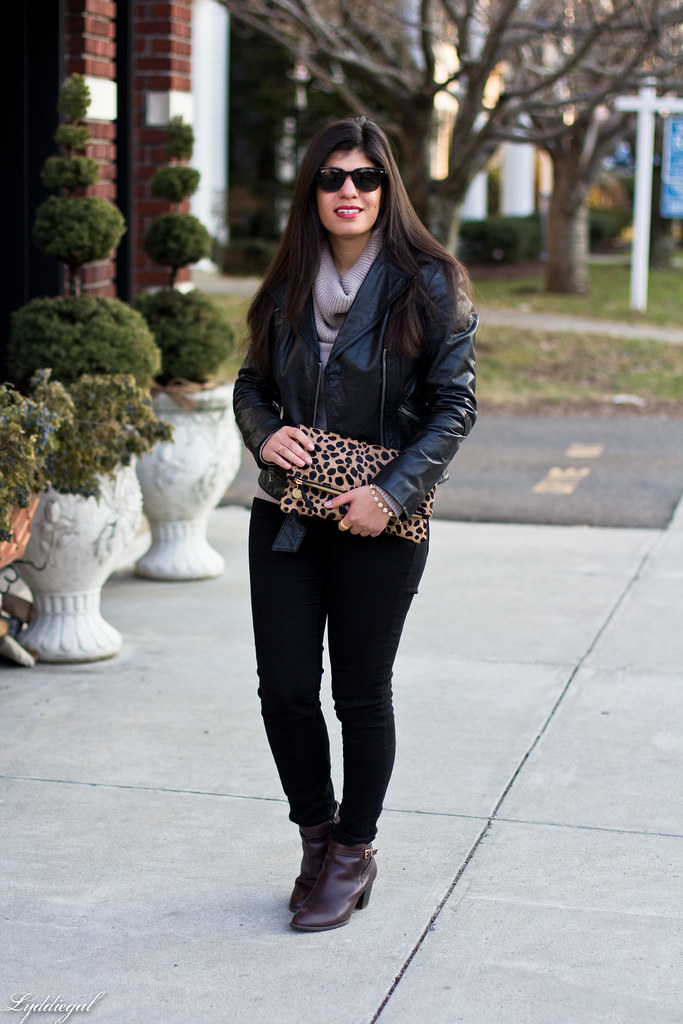 leather jacket, cowl neck sweater, leopard clutch-3.jpg