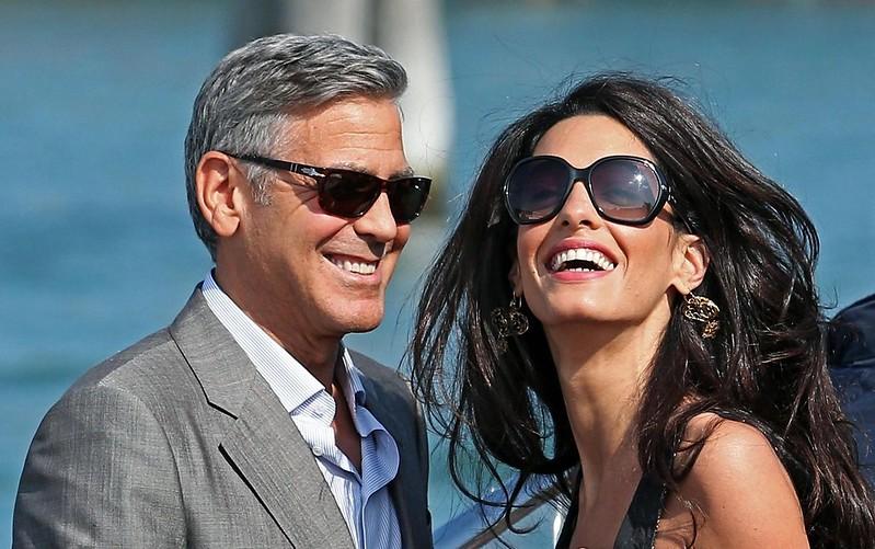 Последние фото Амаль Клуни