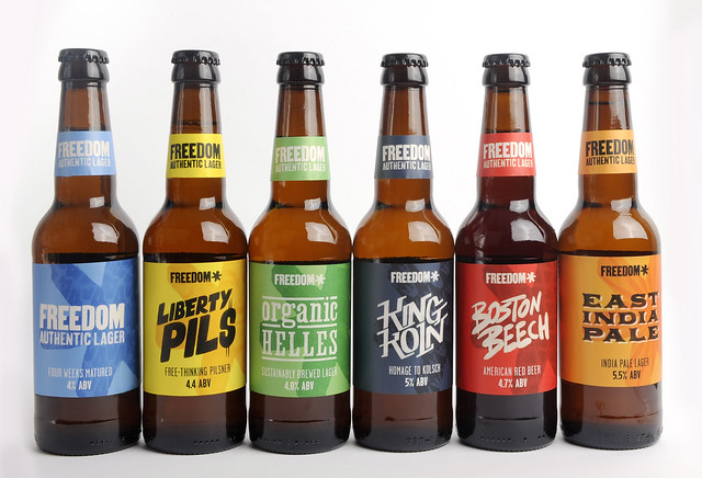 Win the Complete Range of Beers from Freedom Brewery