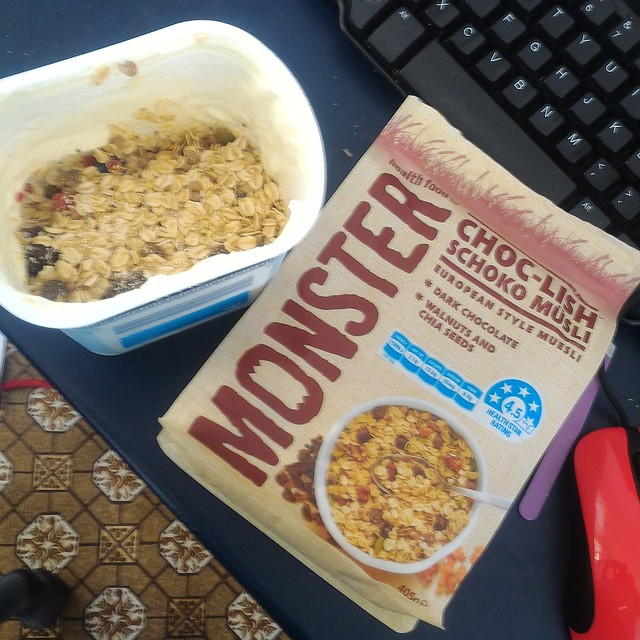 monster schocolish muesli